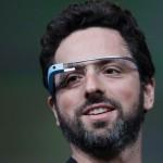 Сергей Брин с Google Project Glass