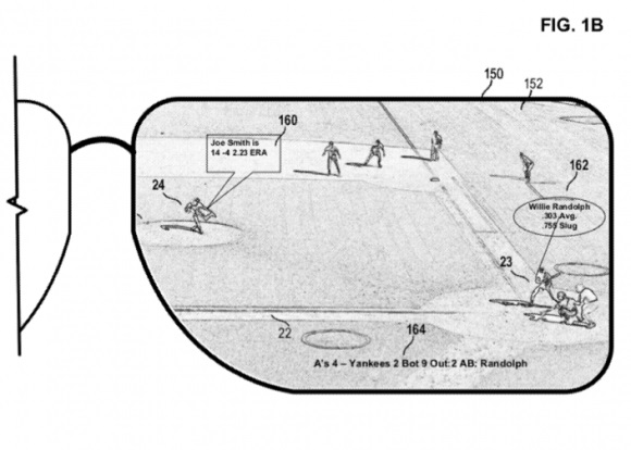 Очки дополненной реальности из патента Microsoft