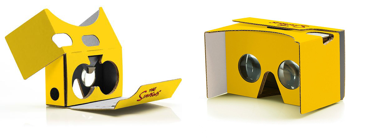 simpsons-google-cardboard
