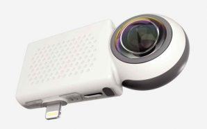«Giroptic» запускает новую 360° камеру для «iPhone» и «iPad»