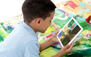 AR приложение «SpinTales» поможет детям оказаться в сказке, не выходя…